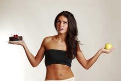 Diet choice Stock Photos