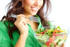 On a diet Royalty Free Stock Photos