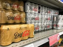 Diet Coke fotografie stock