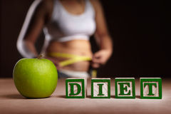 Diet concept stock image