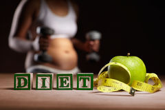 Diet concept Royalty Free Stock Images