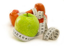 Diet concept Royalty Free Stock Photos