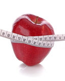 Diet concept with apple Stock Photos