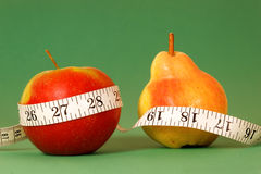 Diet Concept on green Royalty Free Stock Images