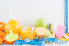 Diet concept. Healthy eating for weight loss. Stock Photo