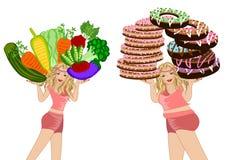 Diet concept healthy life Stock Photos