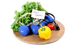 Diet control Stock Photography