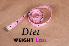 Diet control Stock Photo