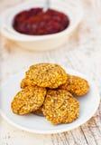 Diet cookies delicious Stock Photos