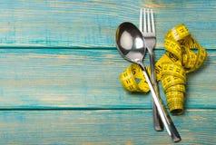 Diet. Ing health dinner surface nutritional slim Stock Image