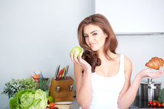 Diet. Dieting concept. Healthy Food Royalty Free Stock Photos