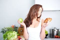 Diet. Dieting concept. Healthy Food Stock Photography