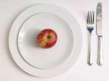Diet dinner Stock Photography