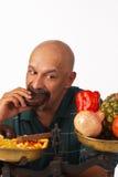 Diet discipline Stock Image