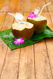 Diet Drink. Organic Coconut Water, Milk. Nutrition, Hydration. H Stock Images
