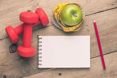 Diet and Exercise Royalty Free Stock Photo