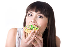 Diet failure Royalty Free Stock Image