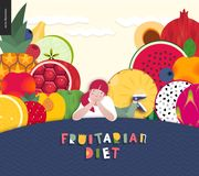 Diet Food Composition Stock Images