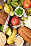Diet food concept Stock Photos