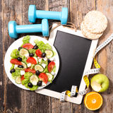 Diet food concept Royalty Free Stock Photography