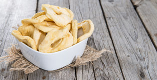 Diet Food (dried Apples) Stock Photography