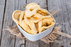 Diet Food (dried Apples) Royalty Free Stock Photography