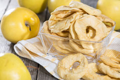 Diet Food (dried Apples) Royalty Free Stock Images