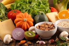 Diet food ingredient. Close up on diet food ingredient royalty free stock photo