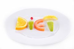 Diet food Royalty Free Stock Image