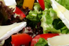 Diet food - vegetable salad Royalty Free Stock Images