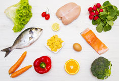 Diet food Stock Photography