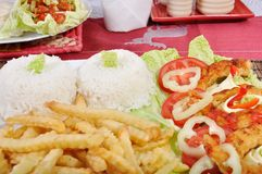 Diet fresh surimi Royalty Free Stock Images
