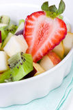 Diet fruit salad in plate Stock Images