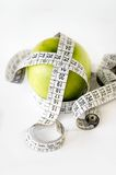 Diet by fruits Stock Photography