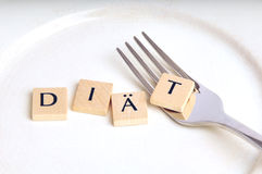 Diet, german version Royalty Free Stock Photography
