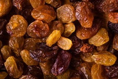 Diet healthy food. Raisin dried grape as background texture Stock Photography
