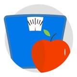 Diet icon app vector Stock Photography