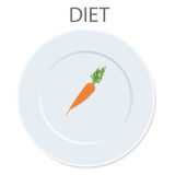 Diet icon. vector illustration Stock Images