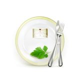 Diet illustration Royalty Free Stock Image