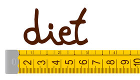 Diet illustration design Stock Image