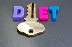 Diet is the key Stock Images