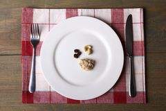 Diet, laying Royalty Free Stock Photo