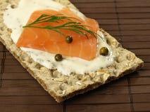 Diet low-fat slice of bread Stock Photo