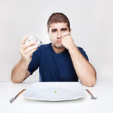 Diet Lunch Royalty Free Stock Photos