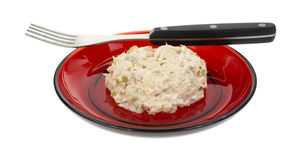 Diet meal of tuna salad Stock Photography