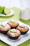 Diet muffins with bran Stock Photography