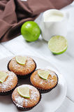 Diet muffins with bran Stock Photos
