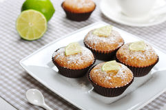 Diet muffins with bran Royalty Free Stock Photos