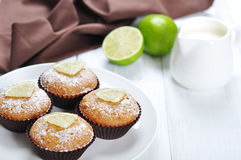 Diet muffins with bran Stock Images
