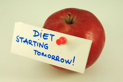 Diet. Note. Nutrition reminder. Exotic fruit and tailors tape meter Stock Image